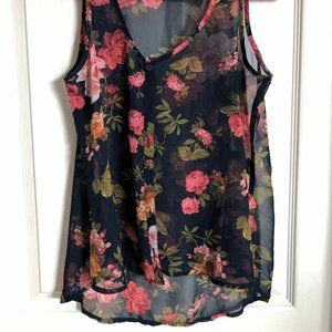 Tank Blouse to wear over a tank top